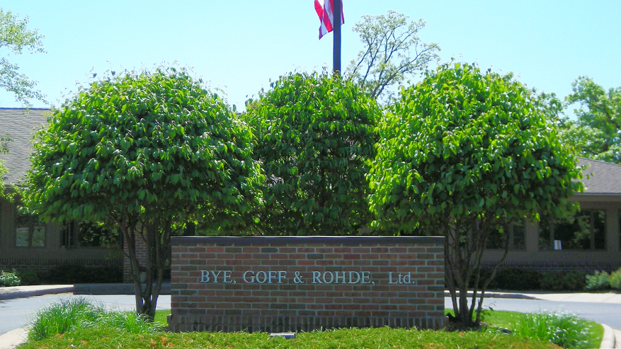 Bye, Goff & Rohde River Falls Location